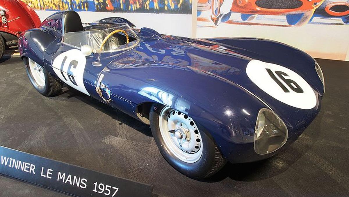 Mejores coches de las 24 Horas de Le Mans Jaguar D-Type 1957