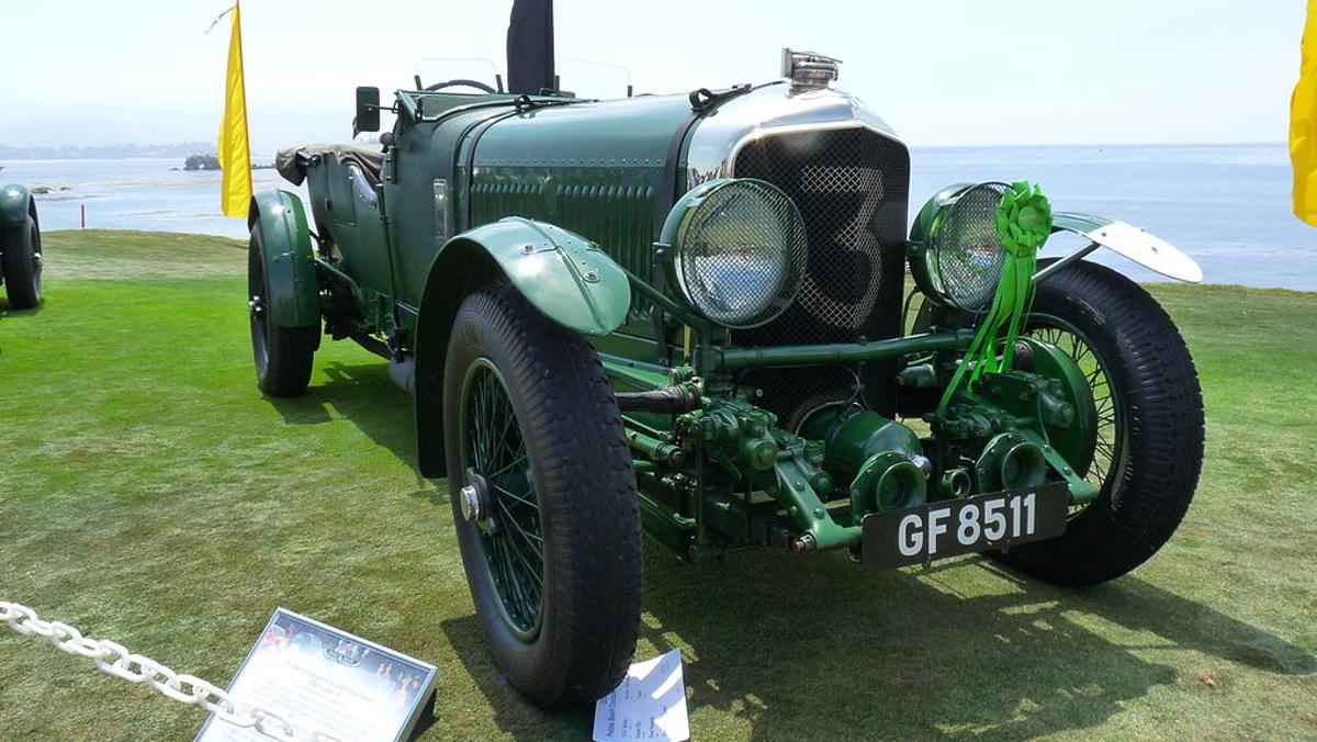 Los mejores coches de Le Mans Bentley 6,5 Litros