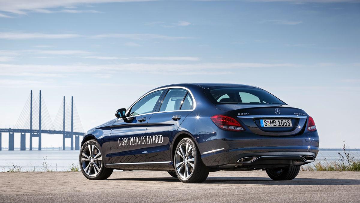 Mercedes Clase C350 plug in hybrid