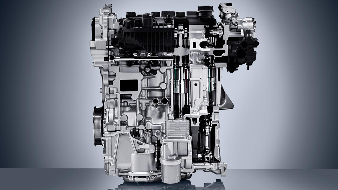 motor compresión volumétrica Infiniti