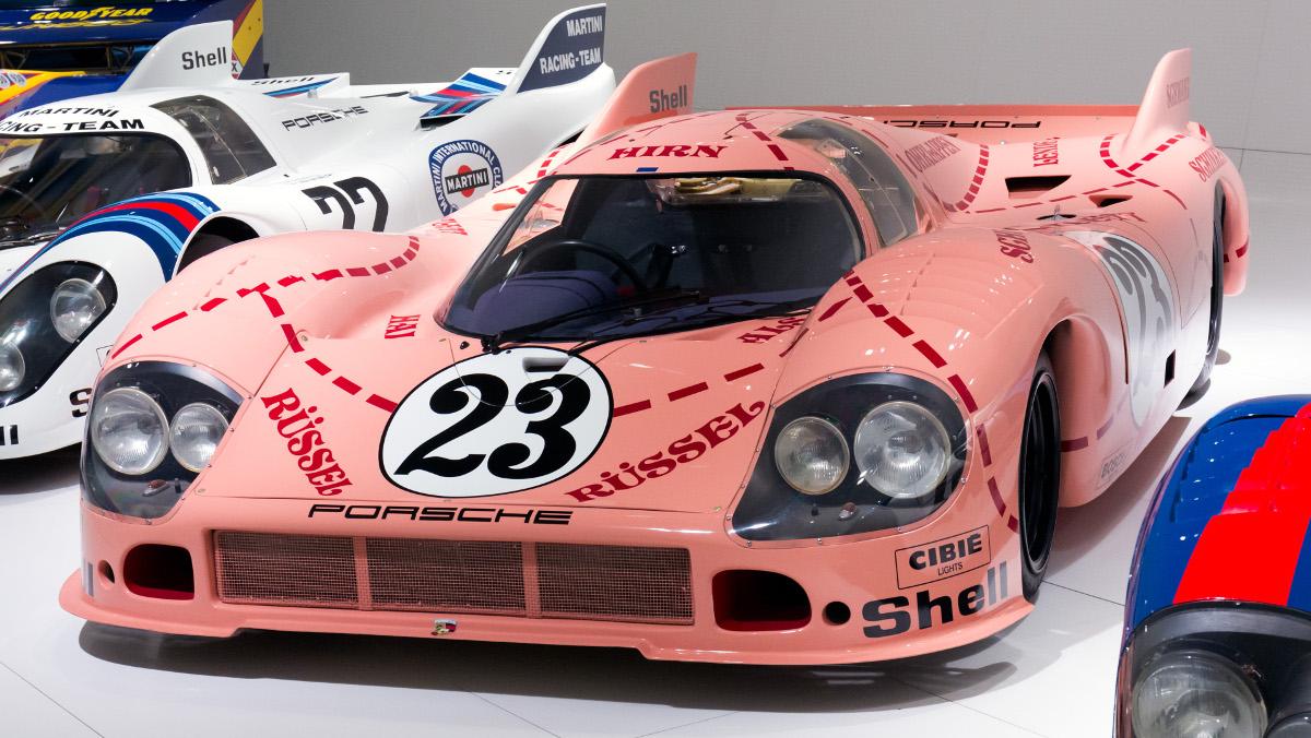 El Porsche 917/20 Pink pig 24 Horas de Le Mans