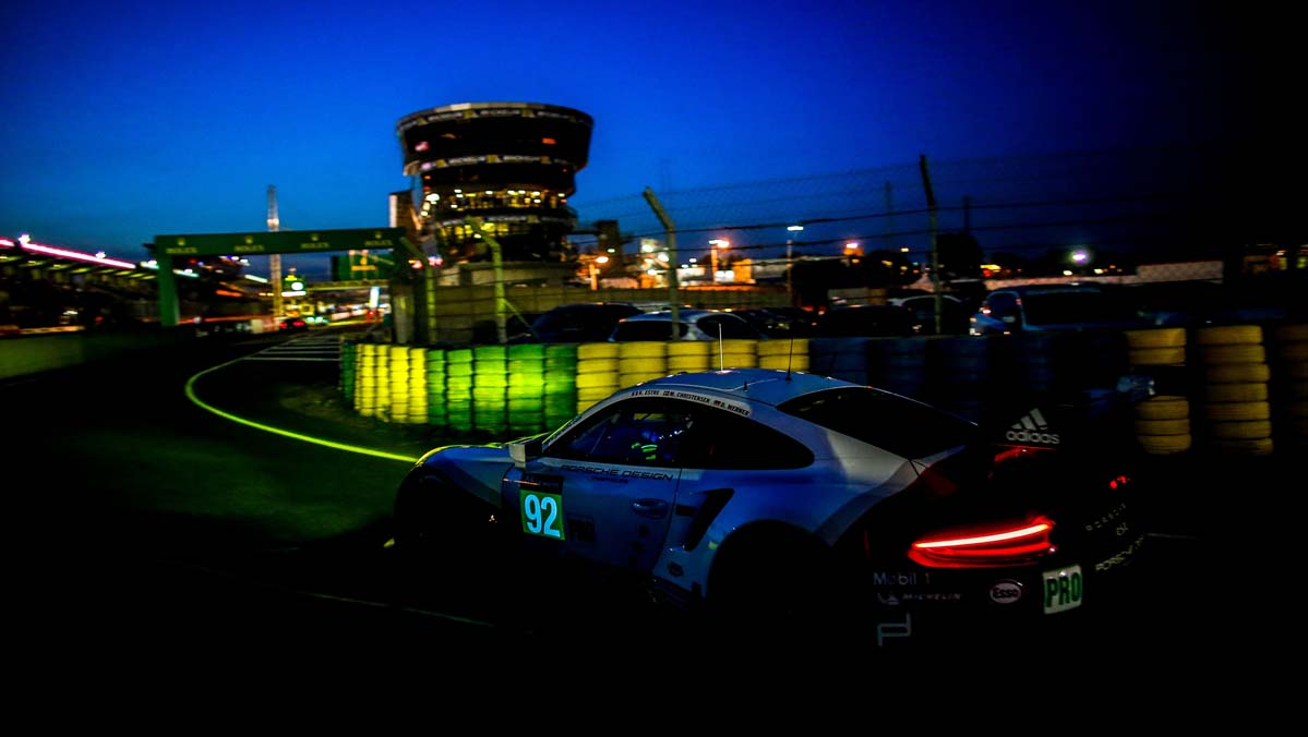 Preparación Porsche 24 Horas de Le Mans