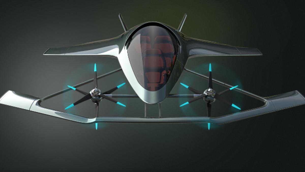 Aston Martin Volante Mision, el avión eléctrico y urbanita