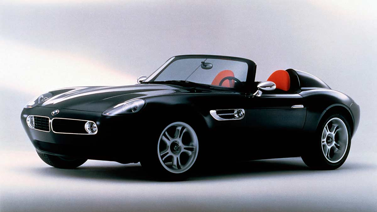 prototipo z8 concept deportivo descapotable roadster