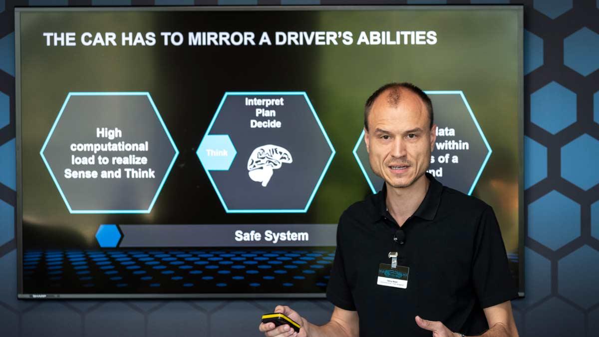 lujo tecnologia procesador camaras radar lidar autonomos conduccion bosch