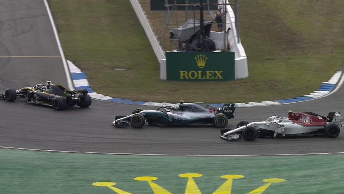 Hamilton y una de las mayores remontadas historia F1