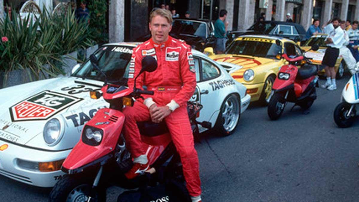 Mika Häkkinen Porsche Supercup