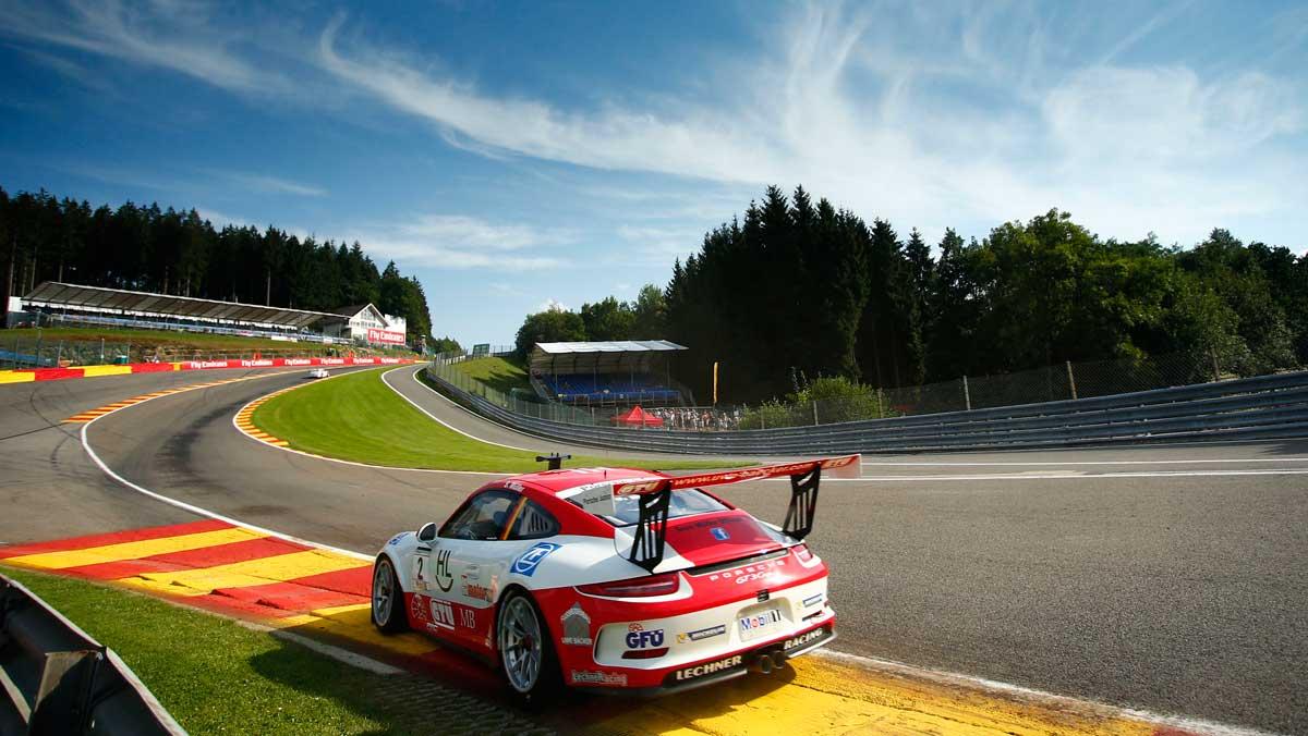 Porsche Supercup Eau Rouge