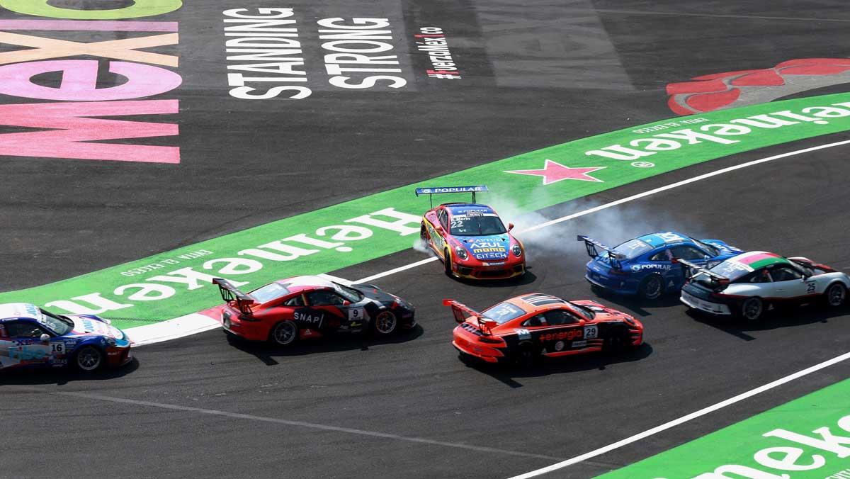 Porsche Supercup en México