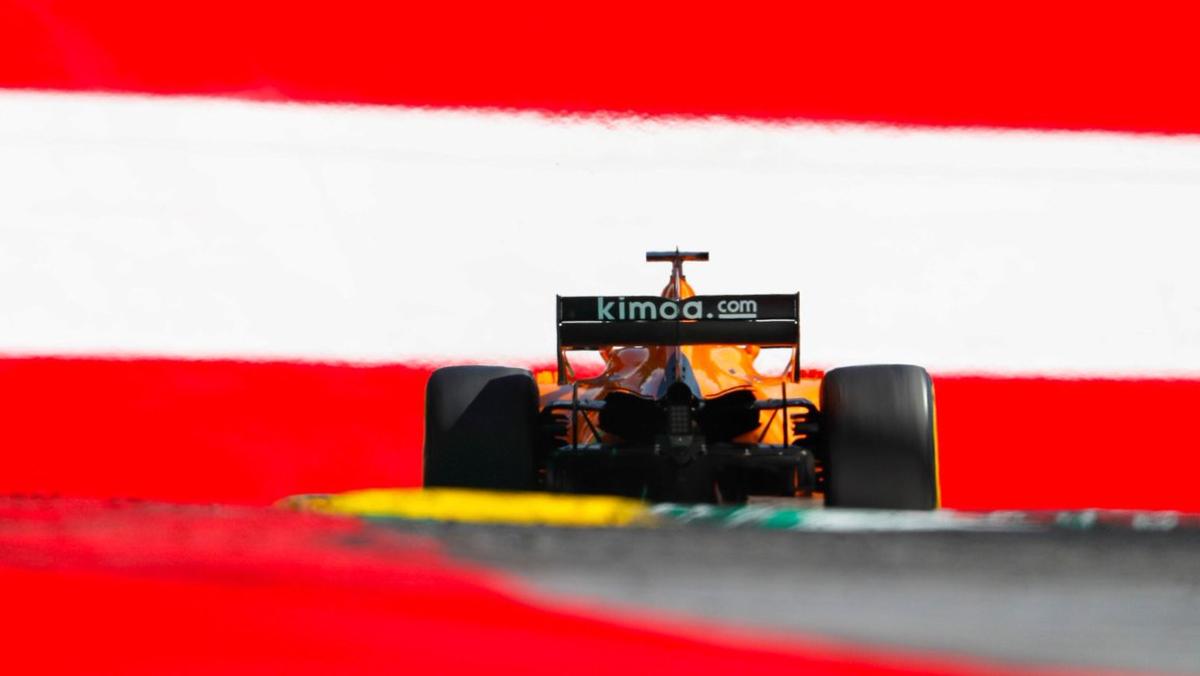 Récord kilómetros Alonso GP Austria F1 2018