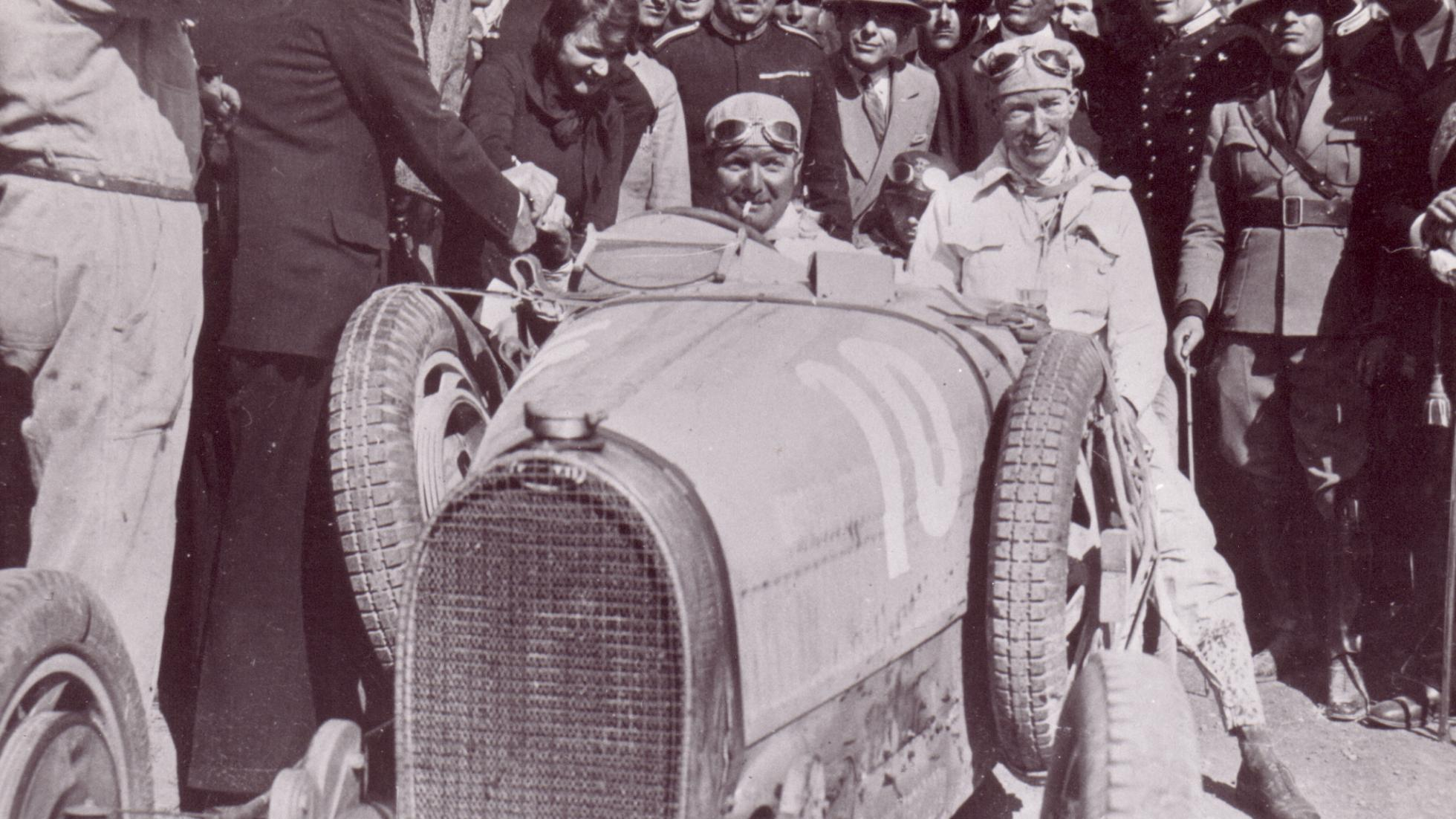Ganó dos veces la Targa Florio