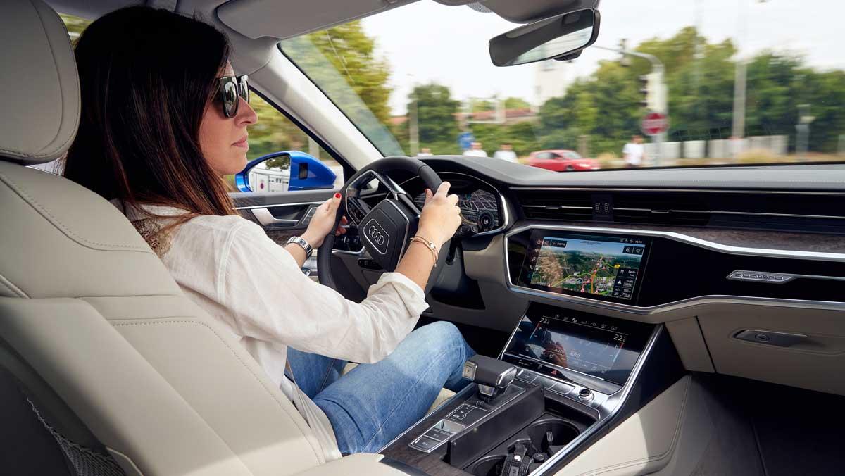 Audi A6 Avant 2018 prueba