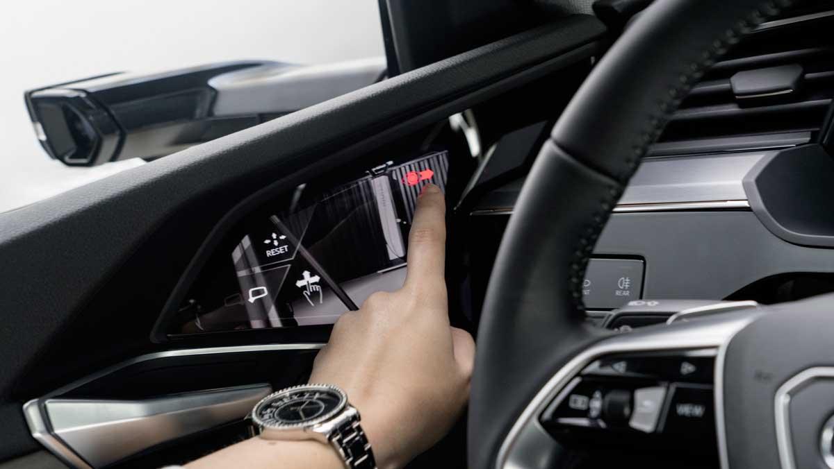 Audi e-tron 2018 Virtual Mirrors