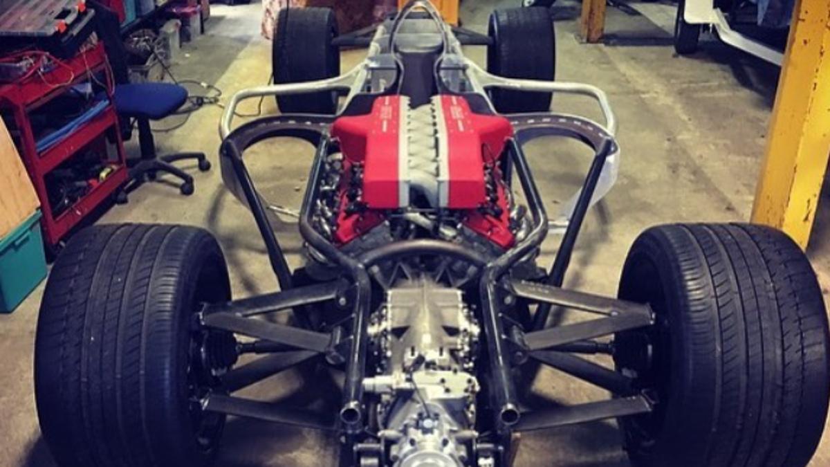 Estructura F1 de calle