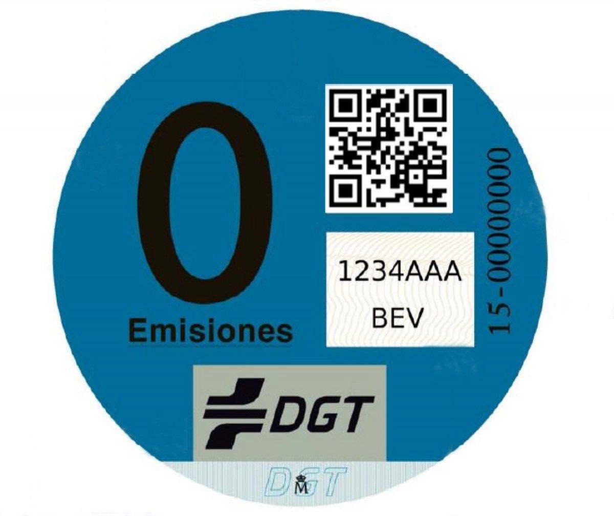 Etiqueta Cero Emisiones
