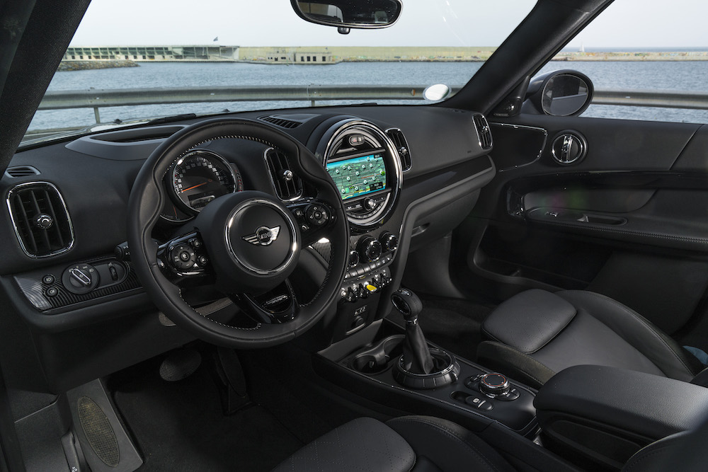 Mini Countryman PHEV interior
