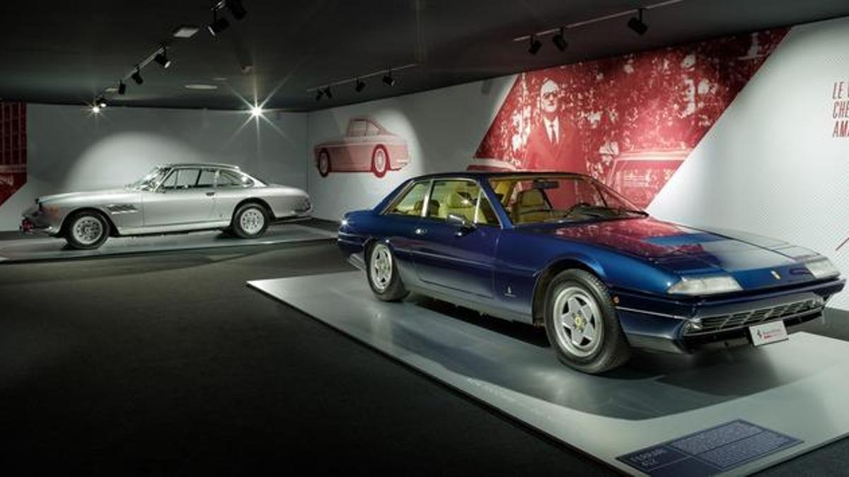 Modelos del Driven by Enzo y Passion and Legend, exposiciones de Ferrari