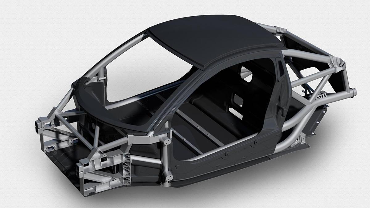 El nuevo coche de Gordon Murray