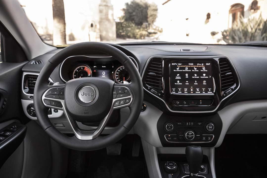 Prueba Jeep Cherokee 2018 interior