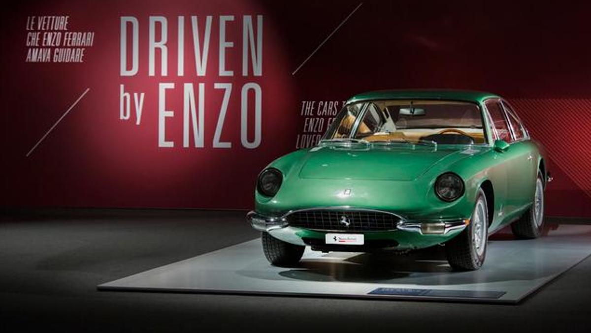 Recepción Driven by Enzo y Passion and Legend de Ferrari