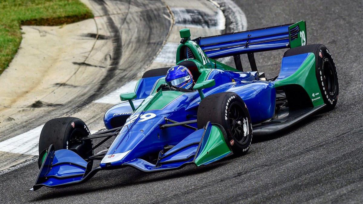 Test de Alonso en la IndyCar