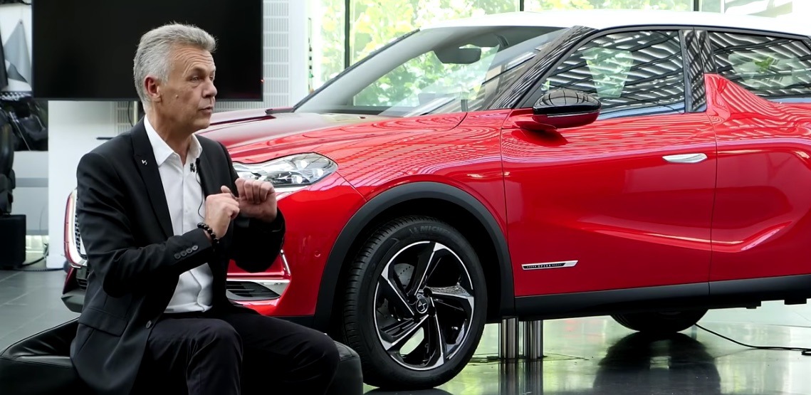 thierry metroz, vice-presidente senior de diseño de DS Automobiles