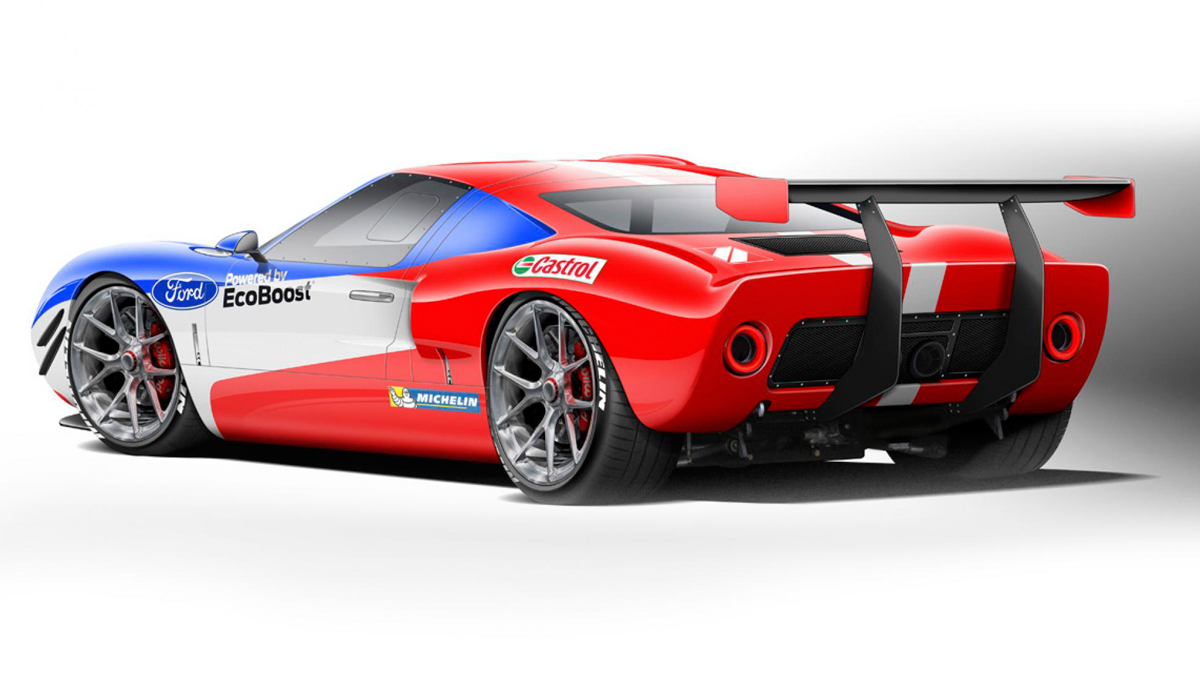 Ford GT40 Superformance (trasera)