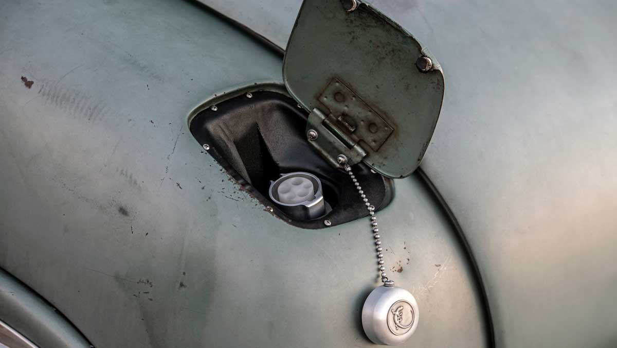 Icon Mercury Coupé con batería Tesla