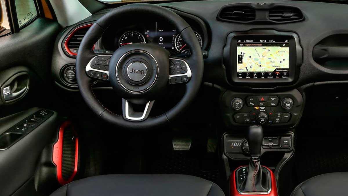 Jeep Renegade 2019 interior