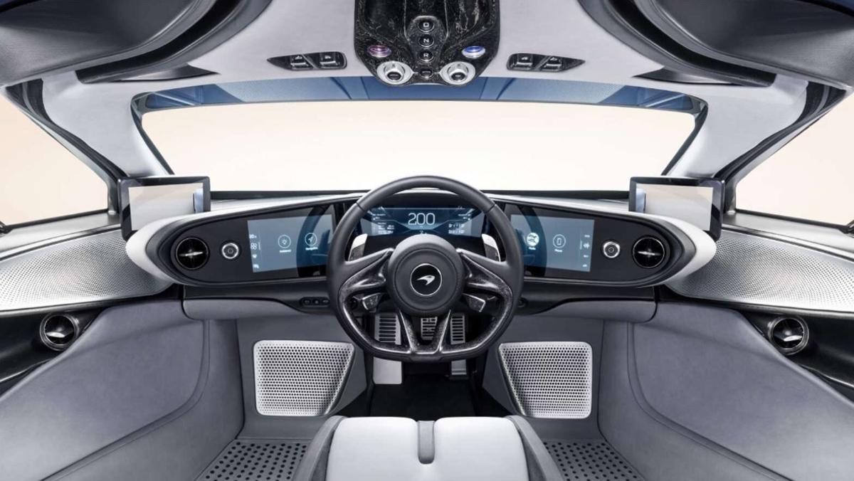 McLaren Speedtail (interior)