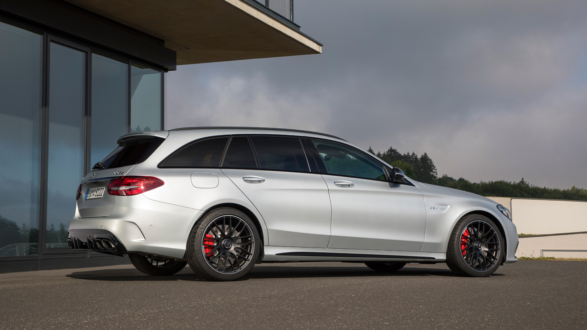 Mercedes-AMG C 63 Estate 2019 (lateral)
