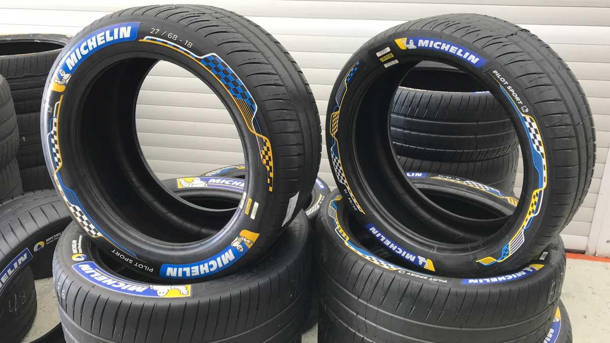 Neumáticos Michelin Pilot Sport Formula E