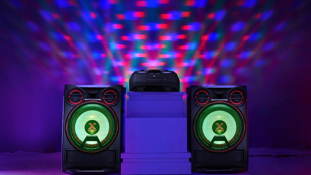 Conoce a La Bestia de LG, el equipo de sonido de alta potencia para tus fiestas