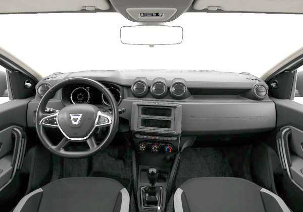 Dacia Duster más barato (interior)