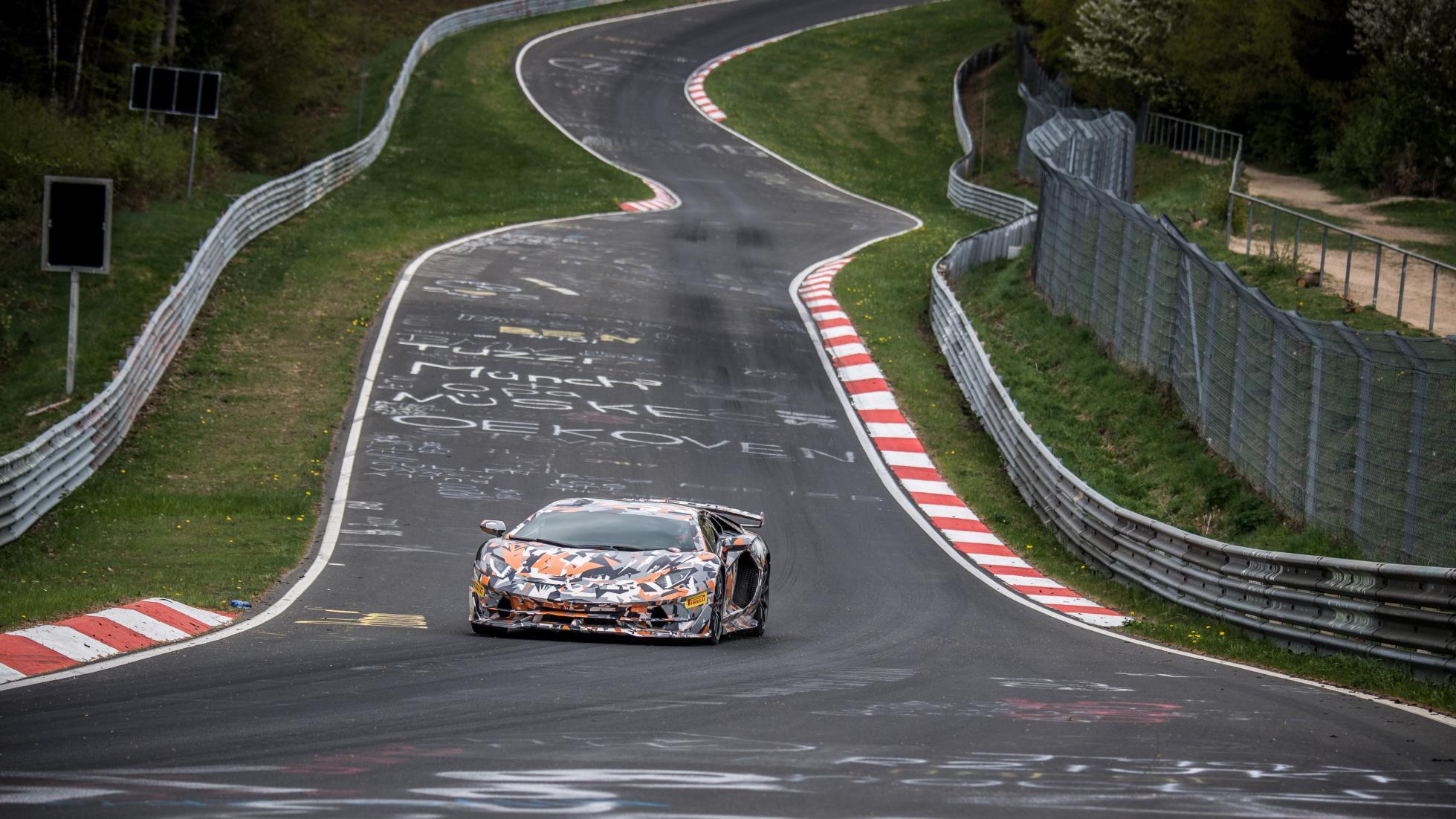 Lamborghini Aventador SVJ Nürburgring