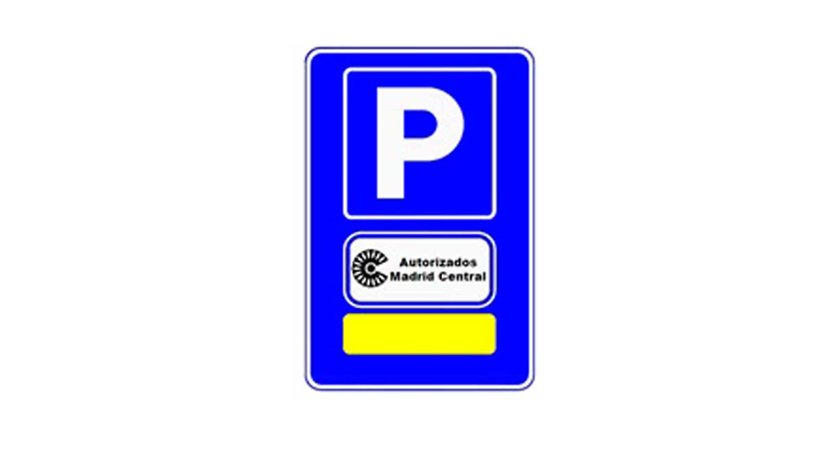 Plaza parking Madrid Central