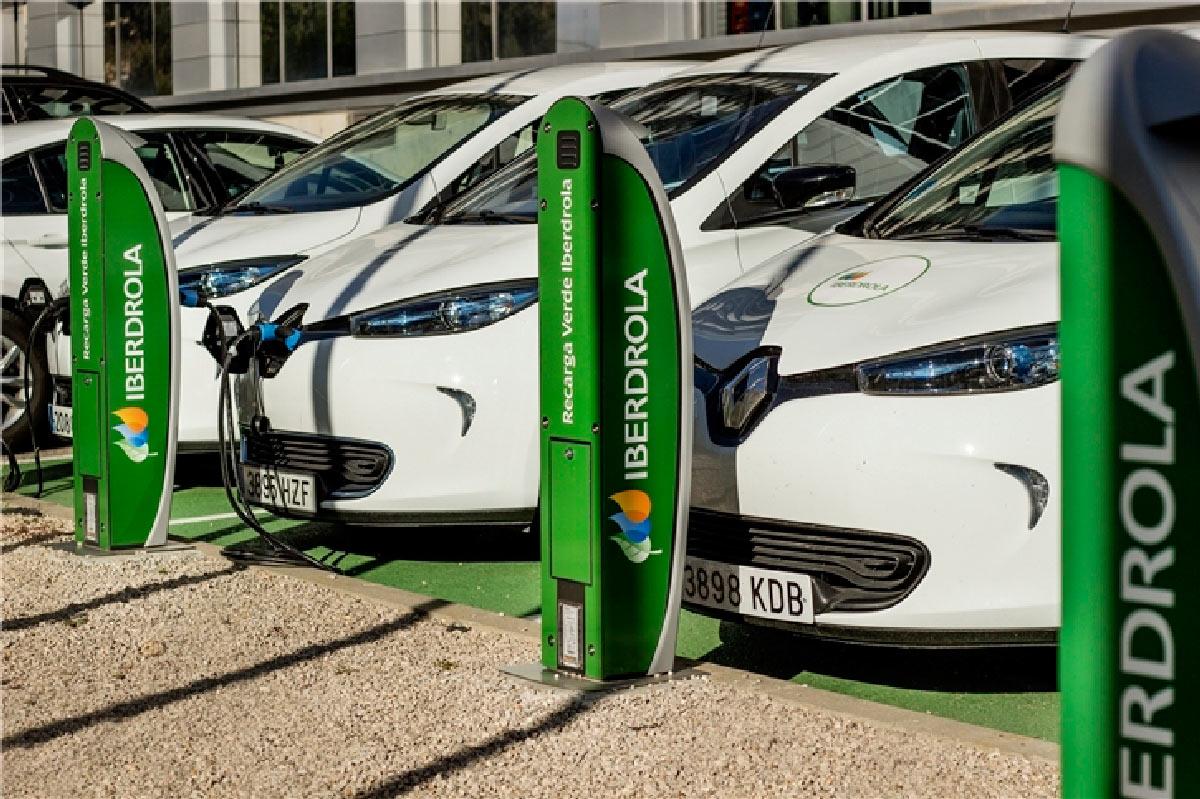 puntos de recarga coche eléctrico iberdrola