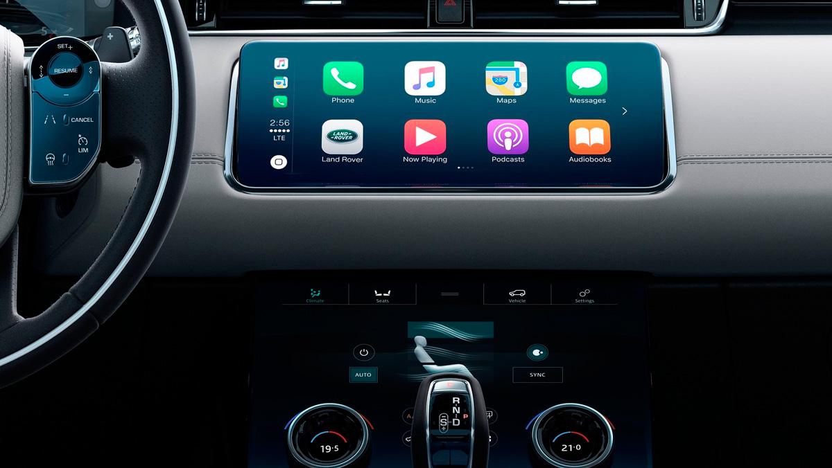 Range Rover Evoque 2019 (pantalla)