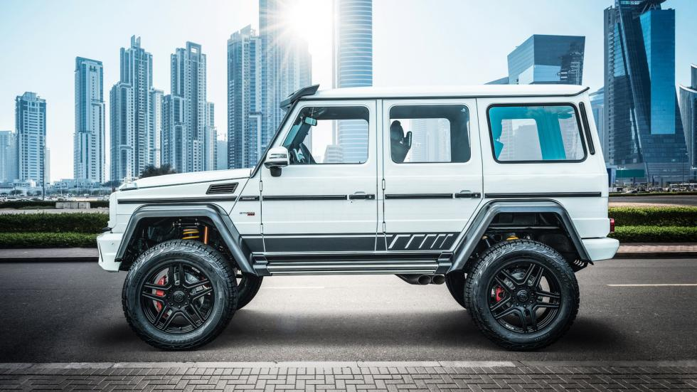 Brabus 700 4x4 Squared One of Ten Final Edition