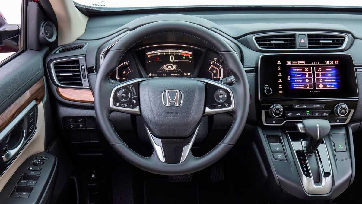 Honda CR-V 2017 interior