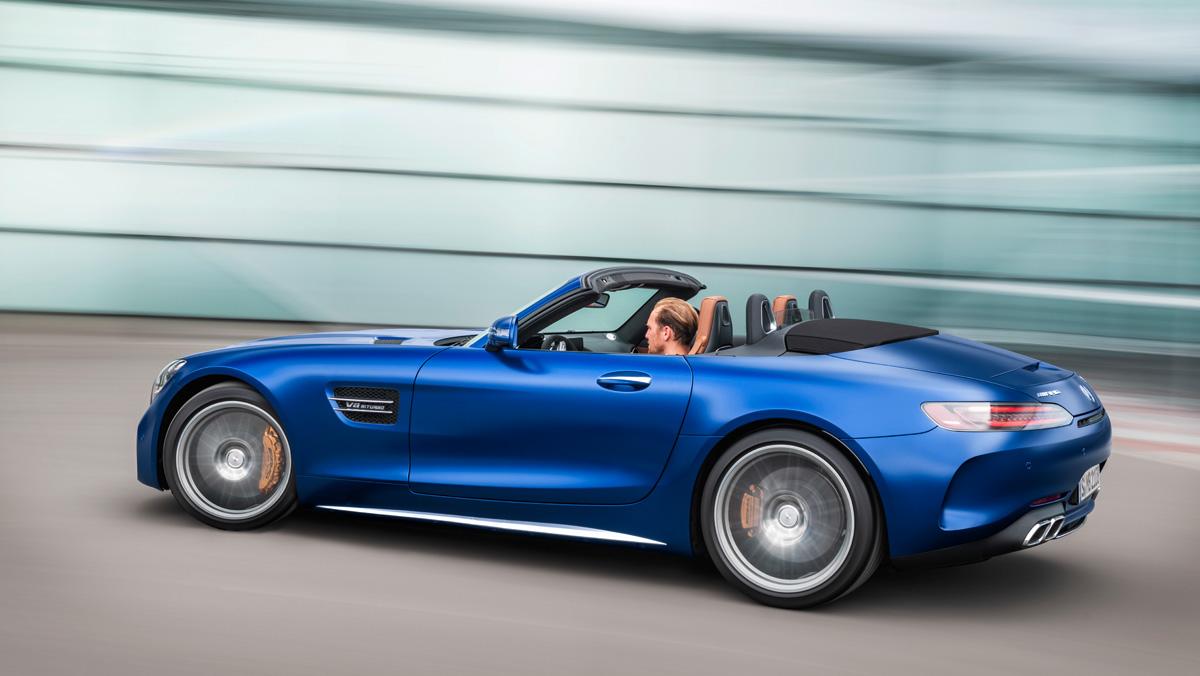Mercedes-Benz AMG GT C Roadster 2019 (trasera)