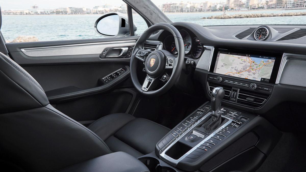 Porsche Macan S 2019 (interior)