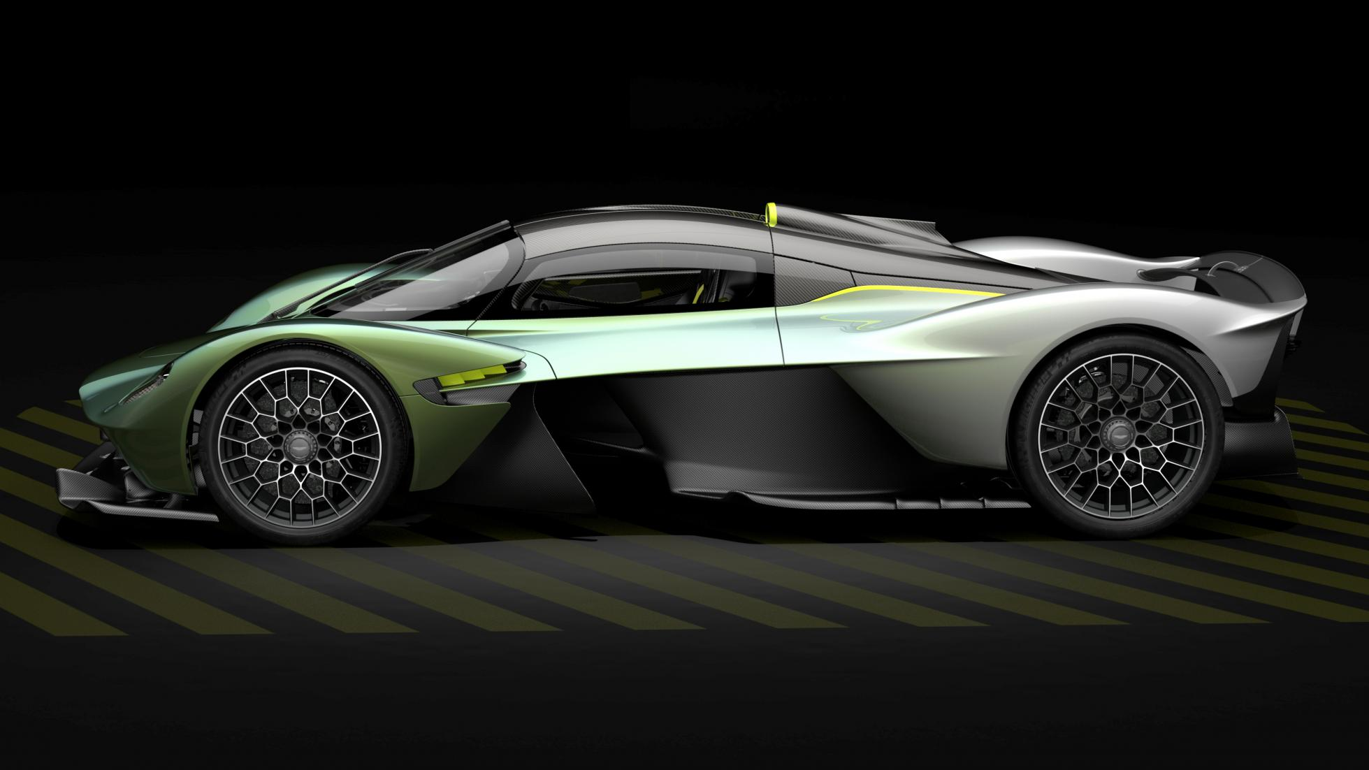 Aston Martin Valkyrie Top Gear (lateral)