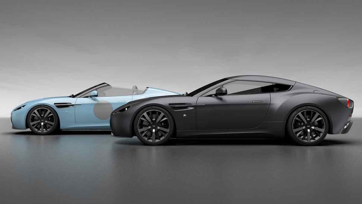 Aston Martin V12 Zagato Heritage Twins