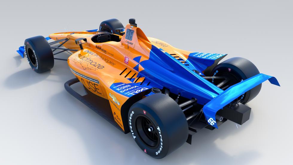 Coche Fernando Alonso Indy 500