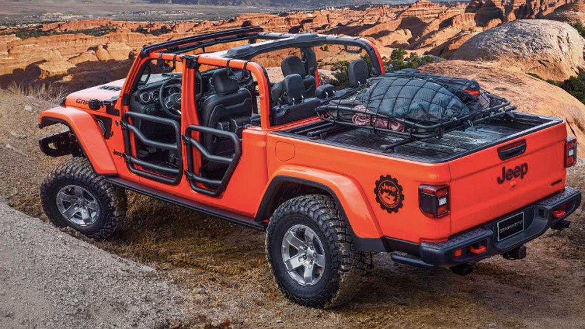 Concept Jeep Gravity, tres cuartos trasero