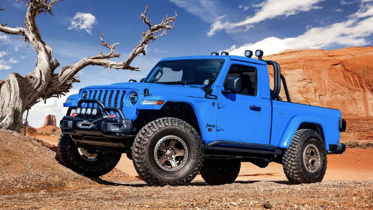 Concept Jeep J6, tres cuartos delantero
