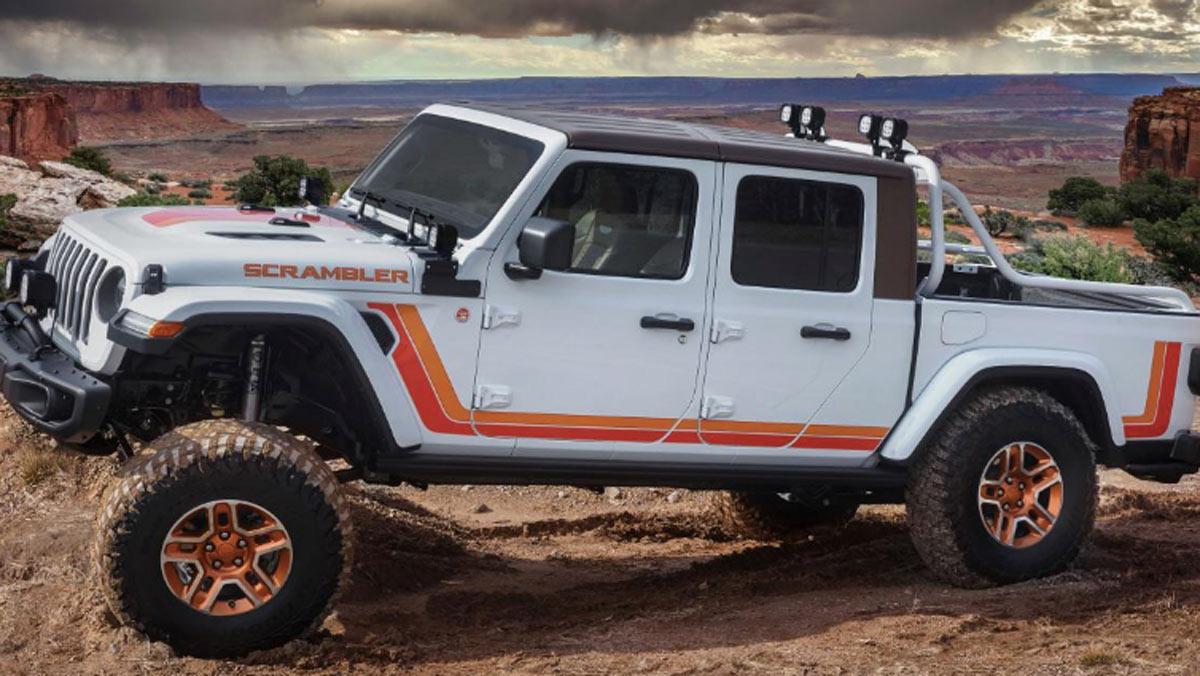 Concept Jeep JT Scrambler, lateral