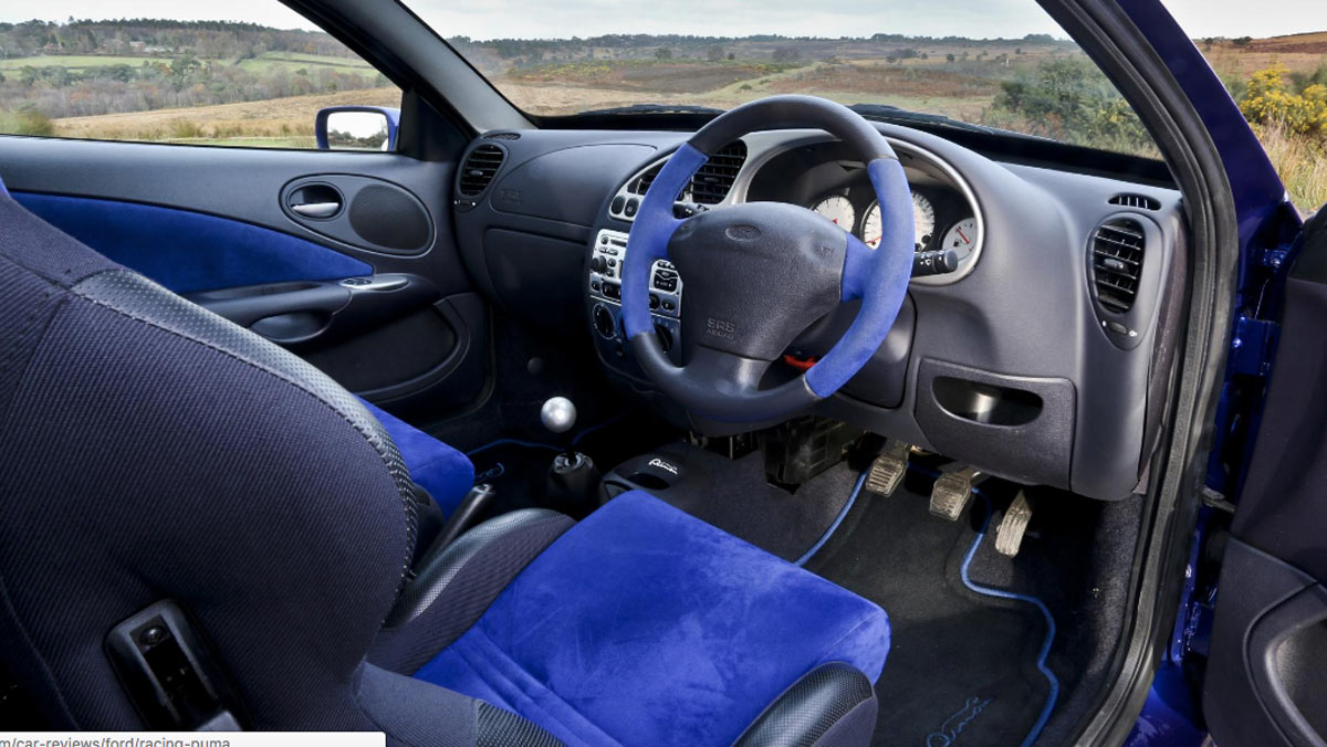 Prueba Ford Racing Puma, interior