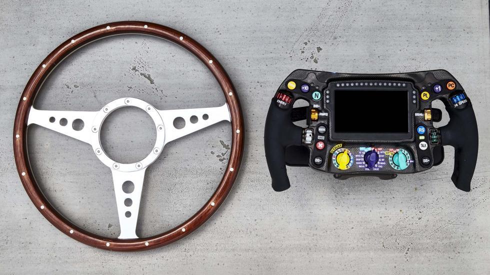 Volante de un F1